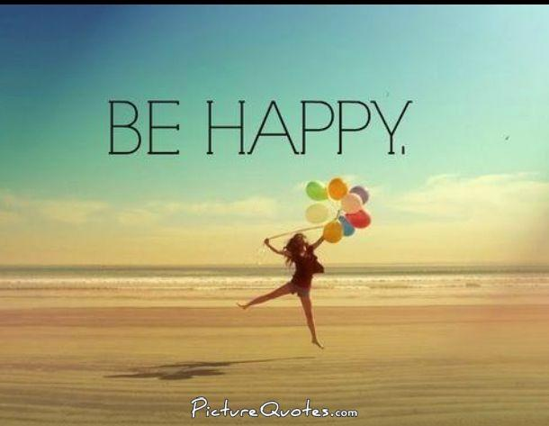 Be happy Picture Quote #1