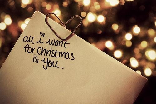 All i want for christmas is you Picture Quote #1