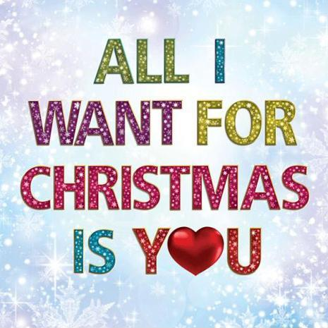 All i want for christmas is you Picture Quote #2