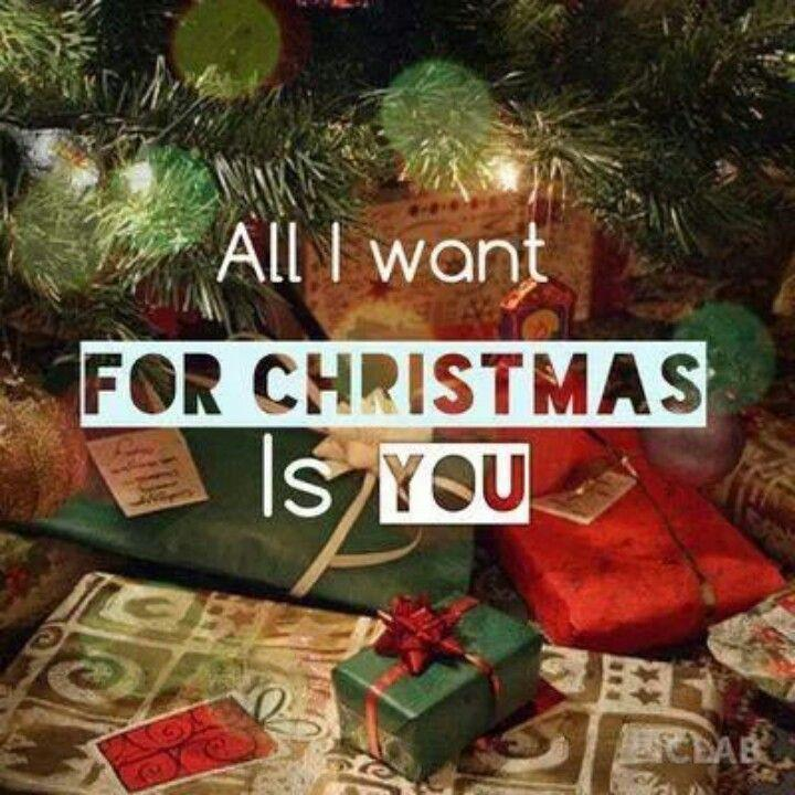 All i want for christmas is you Picture Quote #3