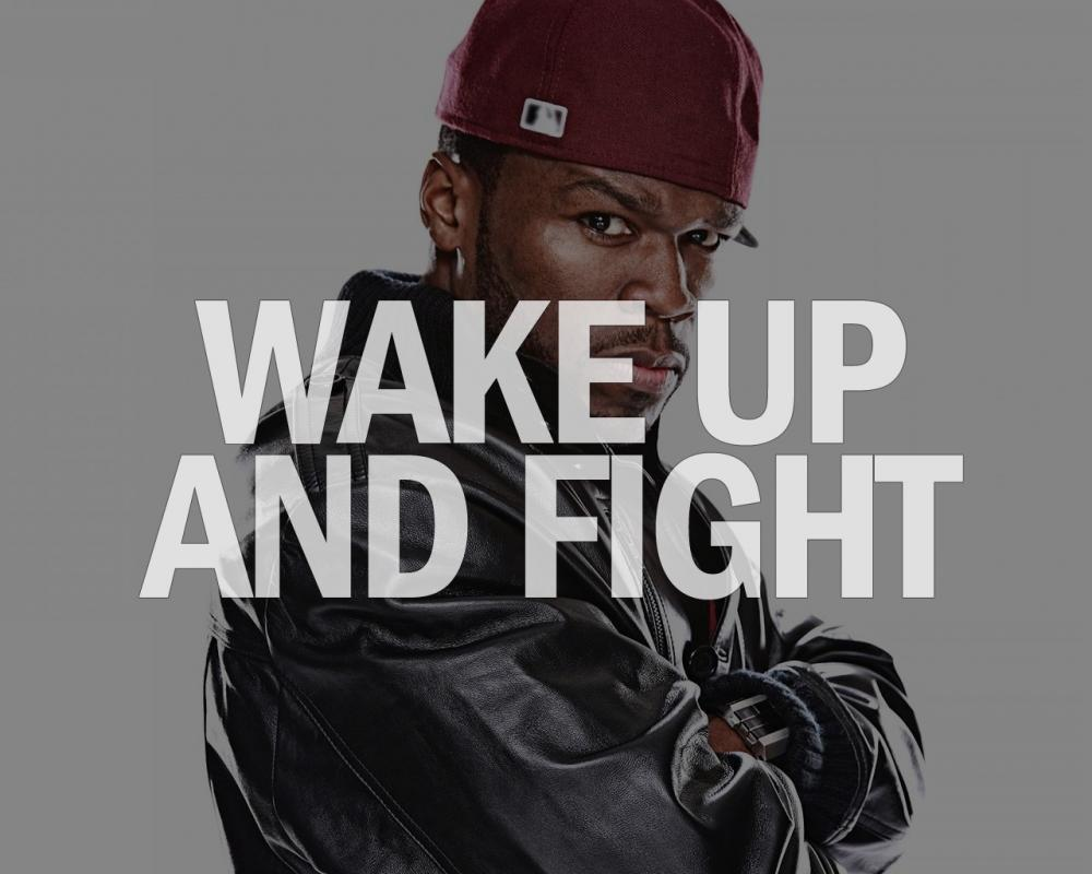 Wake up and fight Picture Quote #1
