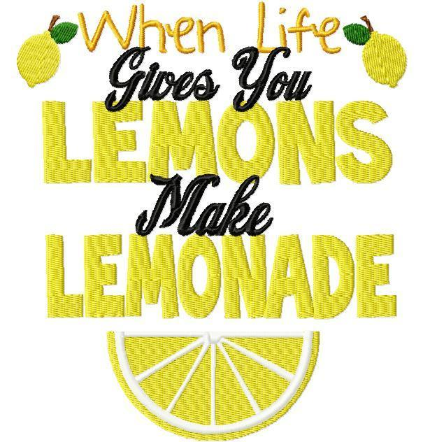 When life gives you lemons, make lemonade Picture Quote #1