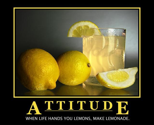 When life gives you lemons, make lemonade Picture Quote #2