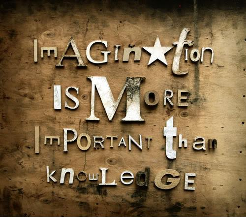 Imagination is more important than knowledge Picture Quote #1