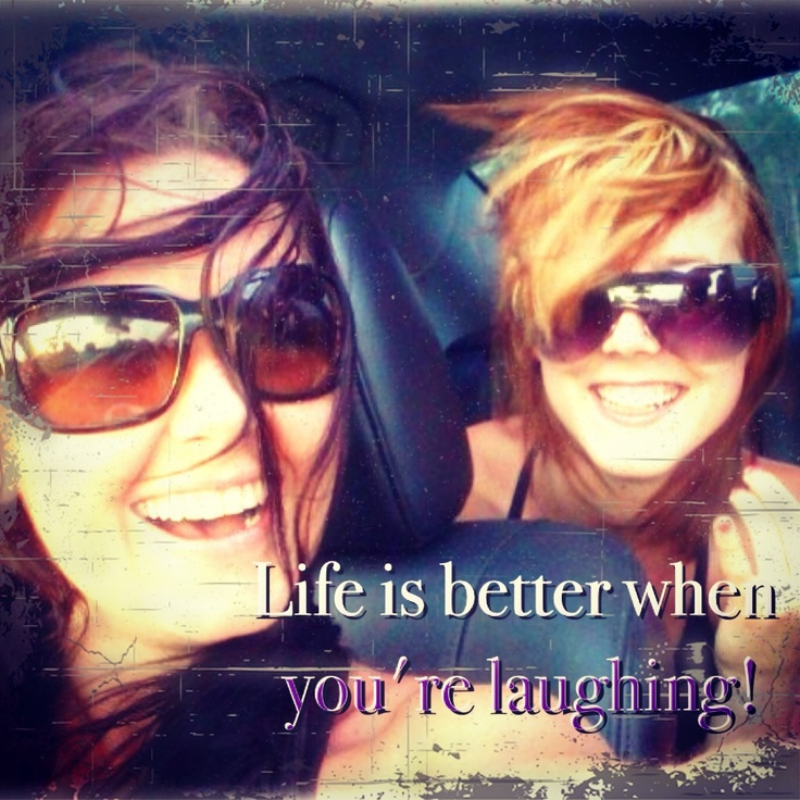 Life is better when you're laughing Picture Quote #4