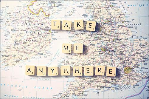 Take me anywhere Picture Quote #1
