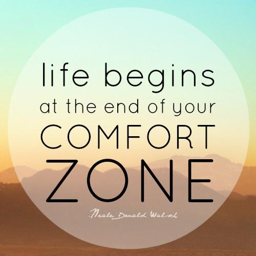 Comfort Zones Comfort Zone Picture Quote