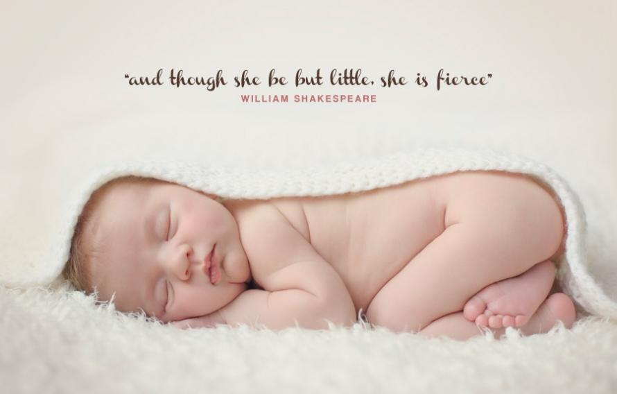 Though she be but little, she is fierce Picture Quote #1