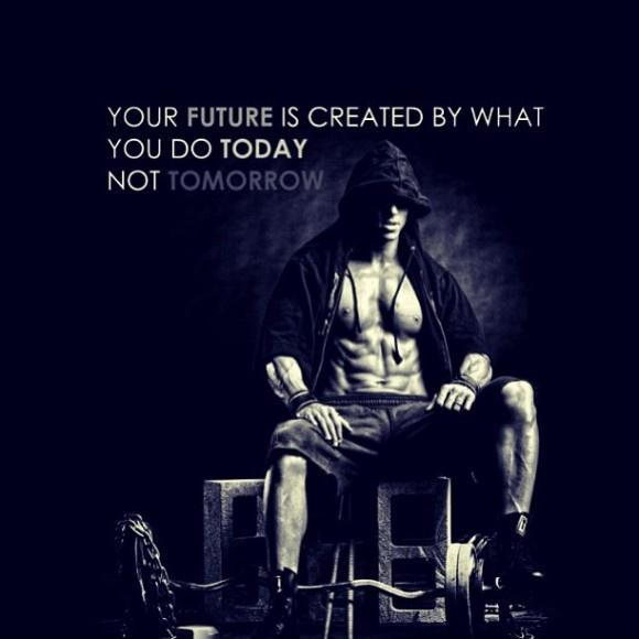 Your future is created by what you do today, not tomorrow Picture Quote #2