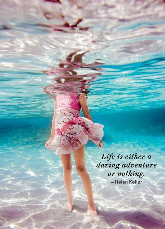 Life is either a daring adventure or nothing Picture Quote #4