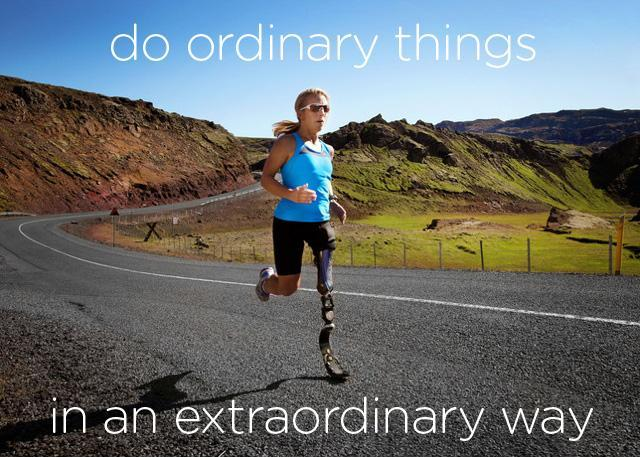 Do ordinary things in an extraordinary way Picture Quote #1