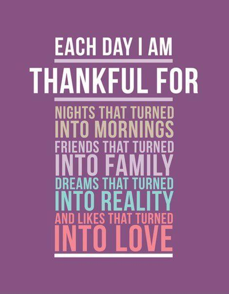Each day i am thankful Picture Quote #1