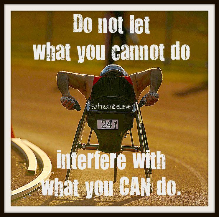 Do not let what you cannot do interfere with what you can do Picture Quote #1