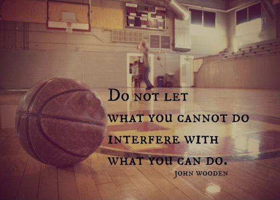 Do not let what you cannot do interfere with what you can do Picture Quote #2