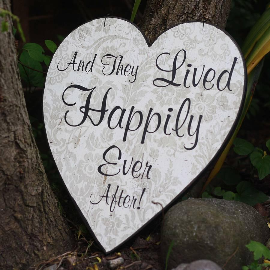 and they lived happily ever after picture quotes