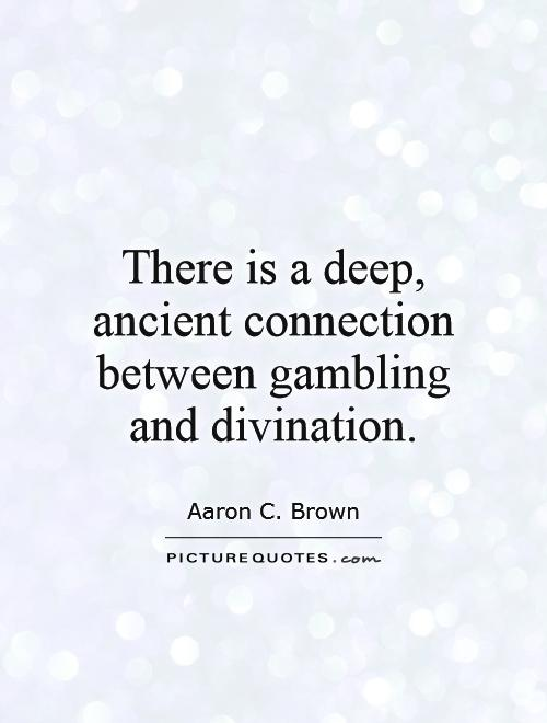 Famous gambling sayings