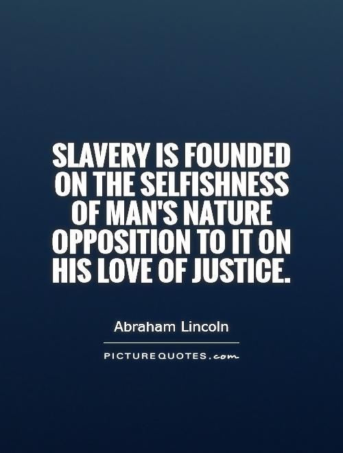 Quotes Human Nature Selfishness