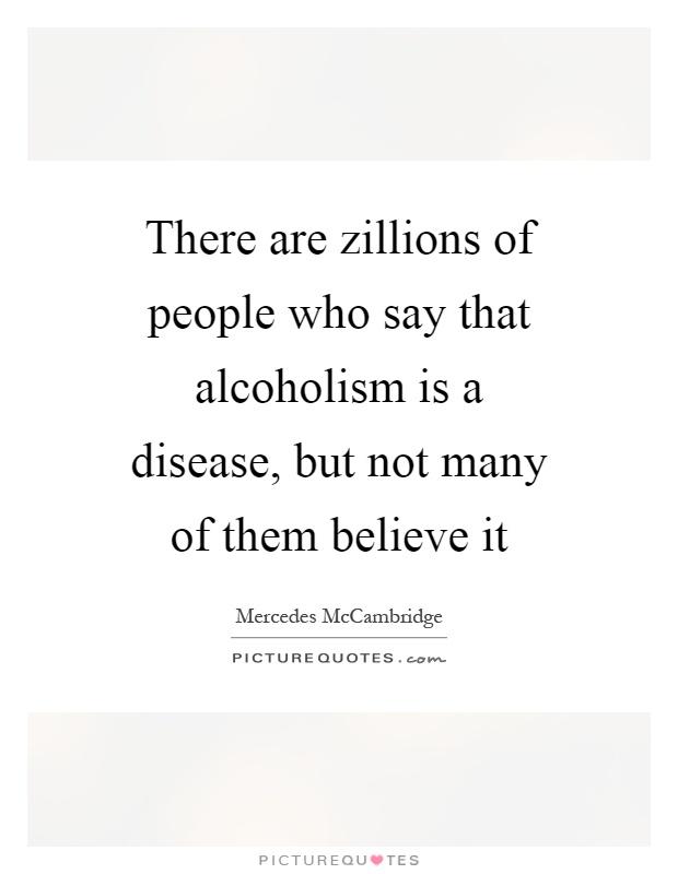 alcoholism is a chronic disease essay