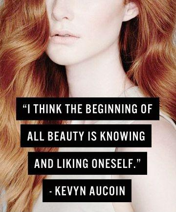I think the beginning of all beauty is knowing and liking oneself Picture Quote #1