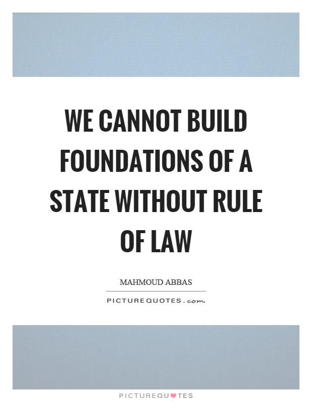 Rule of law Quotes