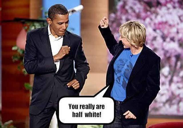 You really are half white! Picture Quote #1
