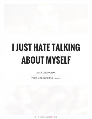 Understand myself