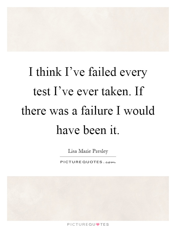 Essay failure in exams quotes