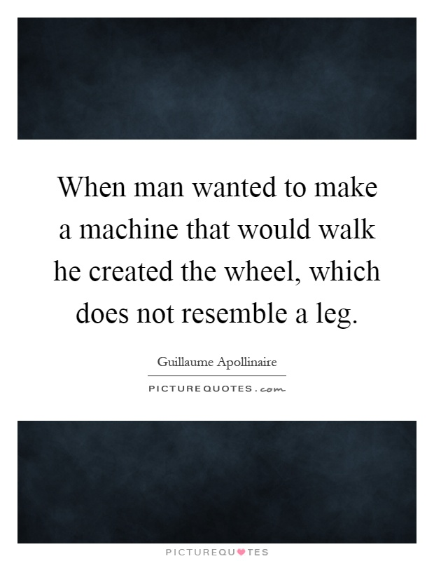 machine does not make