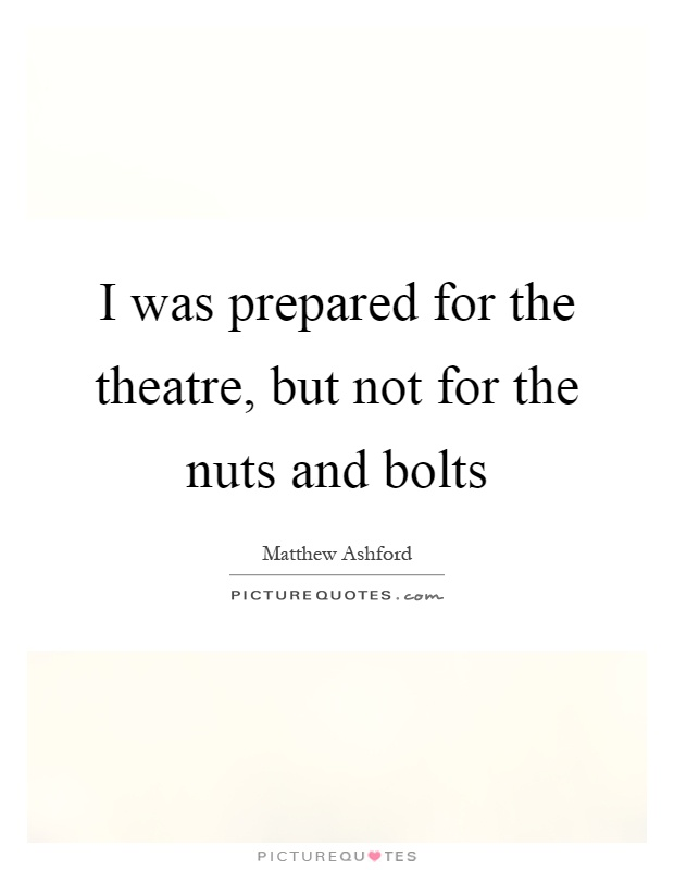 Image result for nuts and bolts quotes
