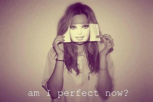 Am I perfect now? Picture Quote #1