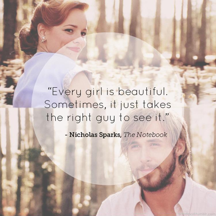 Every girl is beautiful, it sometimes just takes the right guy to see it Picture Quote #1
