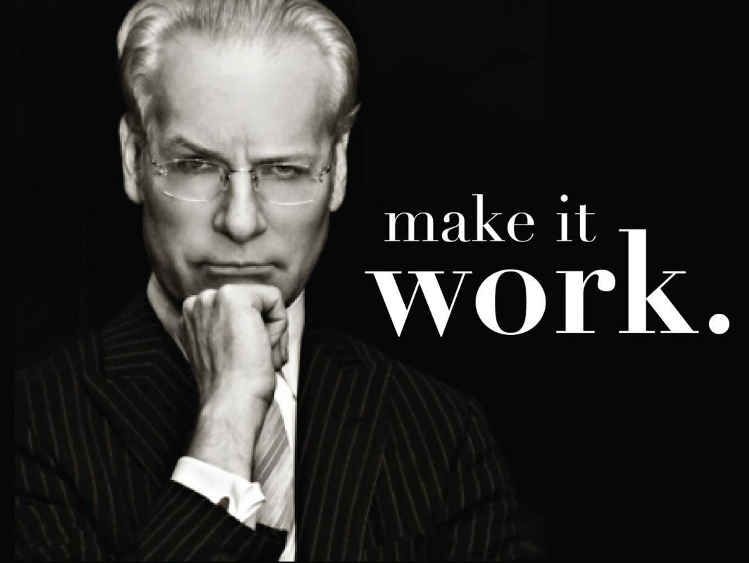 Make it work Picture Quote #1