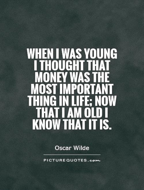quotes about money and life