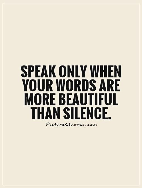 Once Spoken Words Quotes. QuotesGram |Quotes About Words Spoken