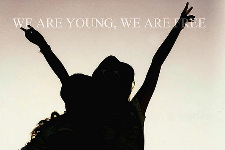 We are young. We are free Picture Quote #1