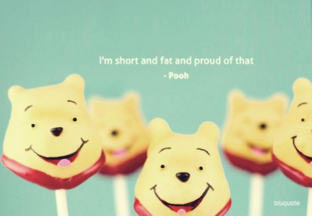 I'm short and fat and proud of that Picture Quote #1