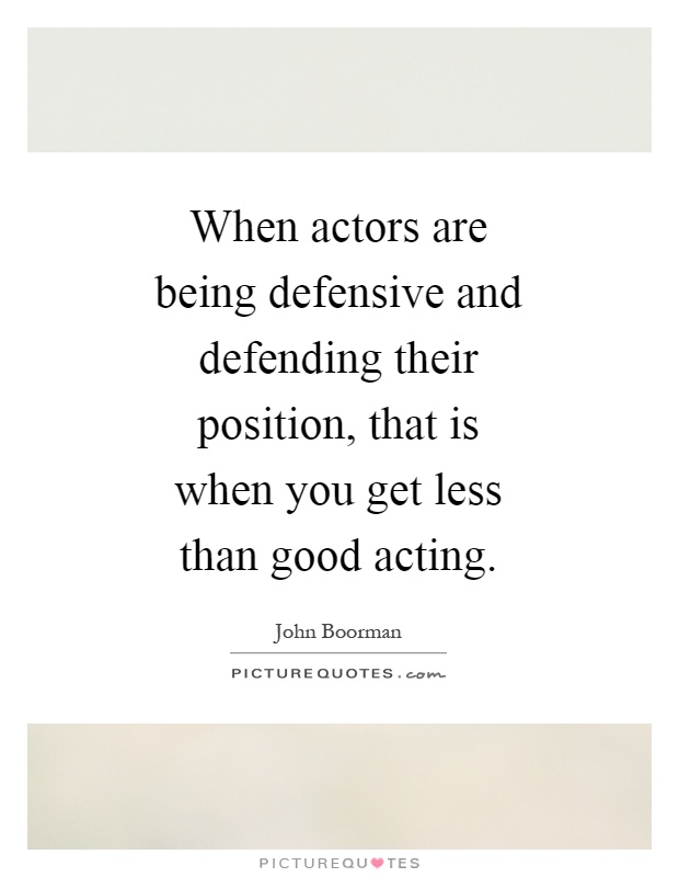 how to get good at acting