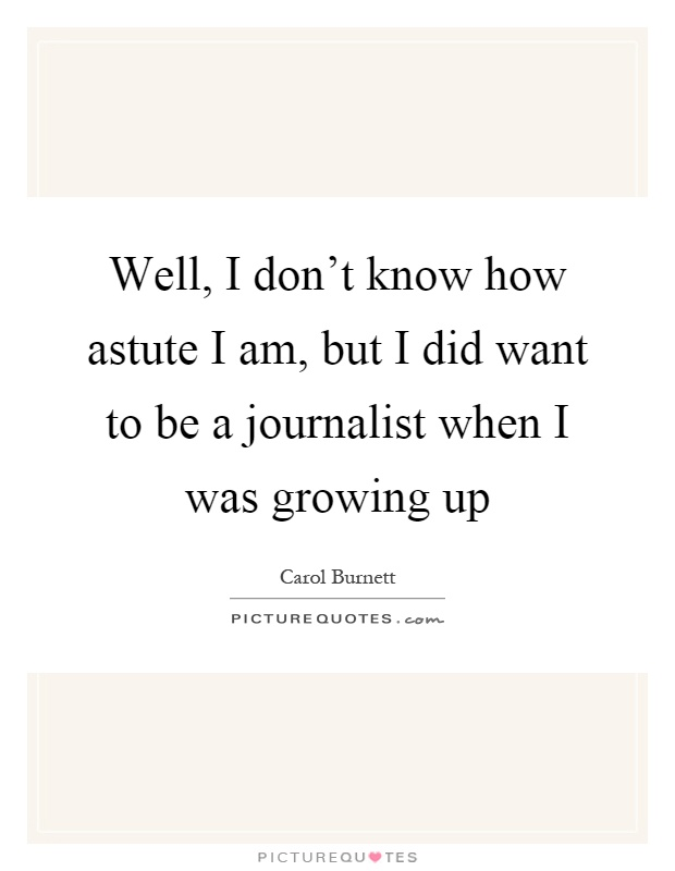 I want to become a journalist.?