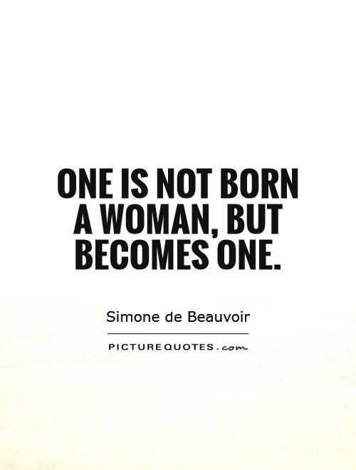 Becoming A Woman: Simone de Beauvoir on Female Embodiment