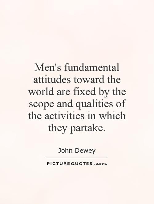 Attitudes toward success