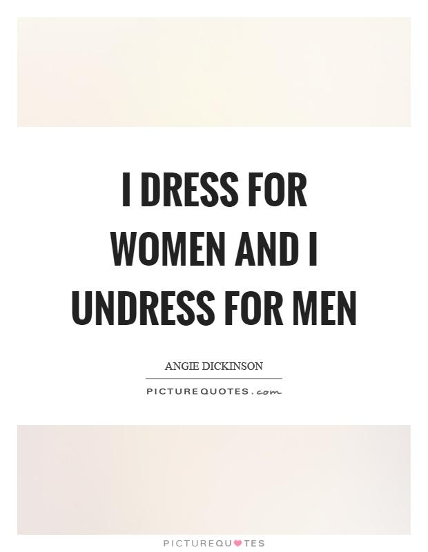 Women in undress