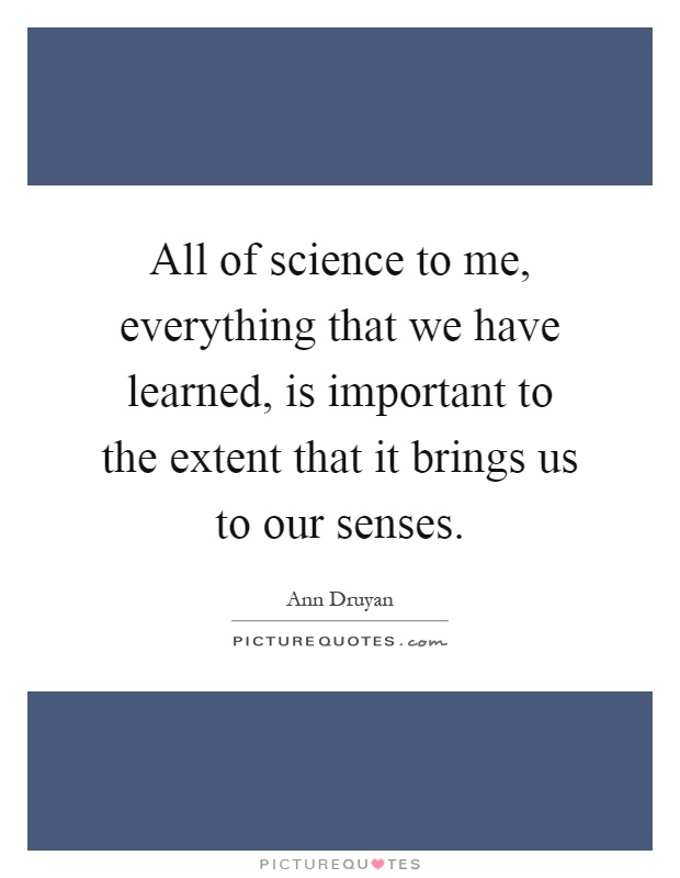 to what extent is our sense How reliable is the knowledge provided by our senses there are many different theories about how our senses actually work initially, that may seem surprising: surely our senses just communicate what's out there, be it an image, a sound, or a smell, to the brain.