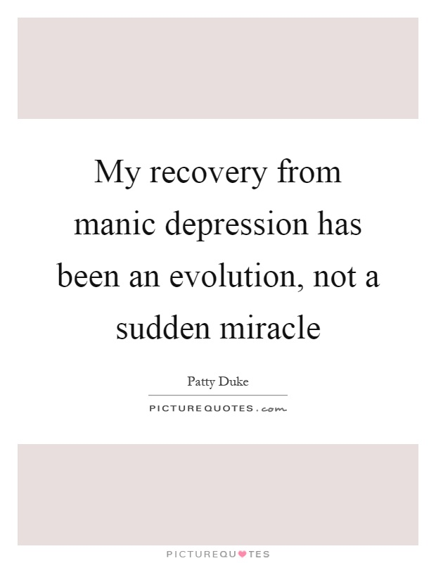 biological theories of manic depression essay Open document essay preview biological theories of manic-depression the disorder is characterized by alternating periods of depression and mania and occurs in 1% of the population the depressive episodes can range in severity from dysthymia to major depressive episodes.