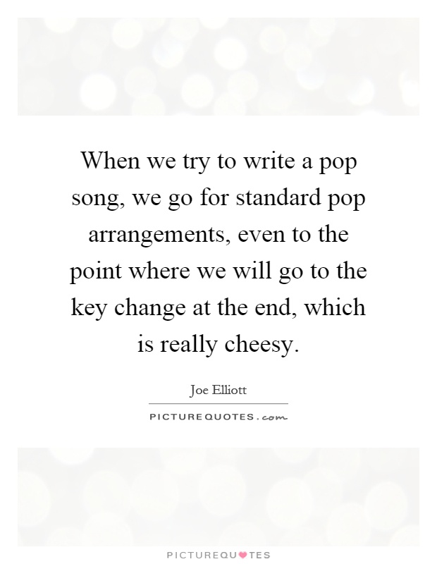 How to write great pop songs