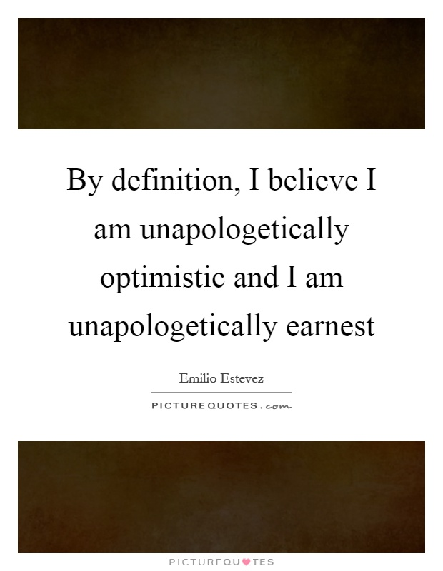i i am any optimistic man or woman essay