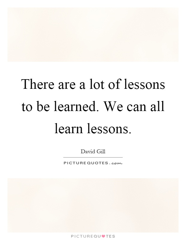 quotes about learning lessons - photo #8