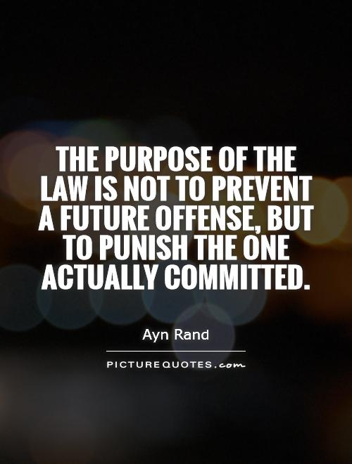 the function of law The main functions of criminal law are to ensure that criminals suffer in some way for the crimes they commit and to deter them from future criminal behavior.