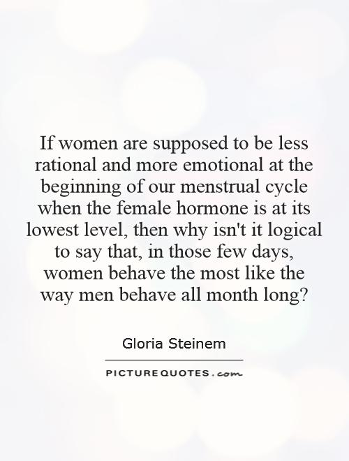 Why Are Men Logical And Women Emotional 83