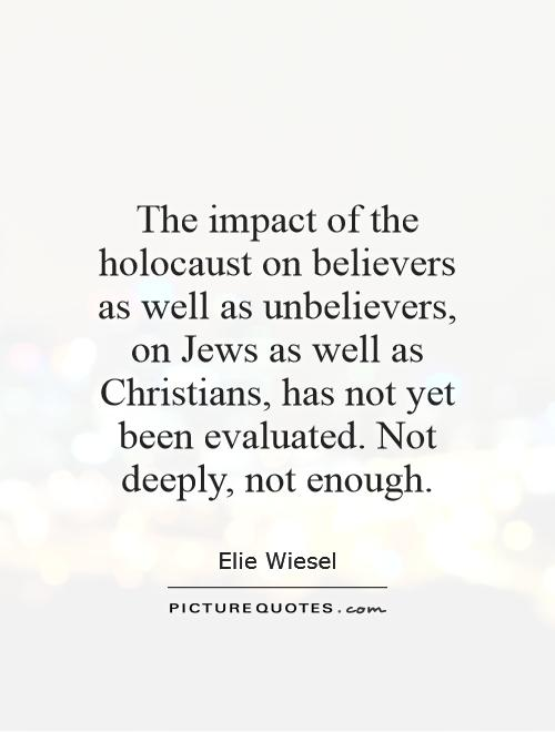 What were the immediate effects of the Holocaust?