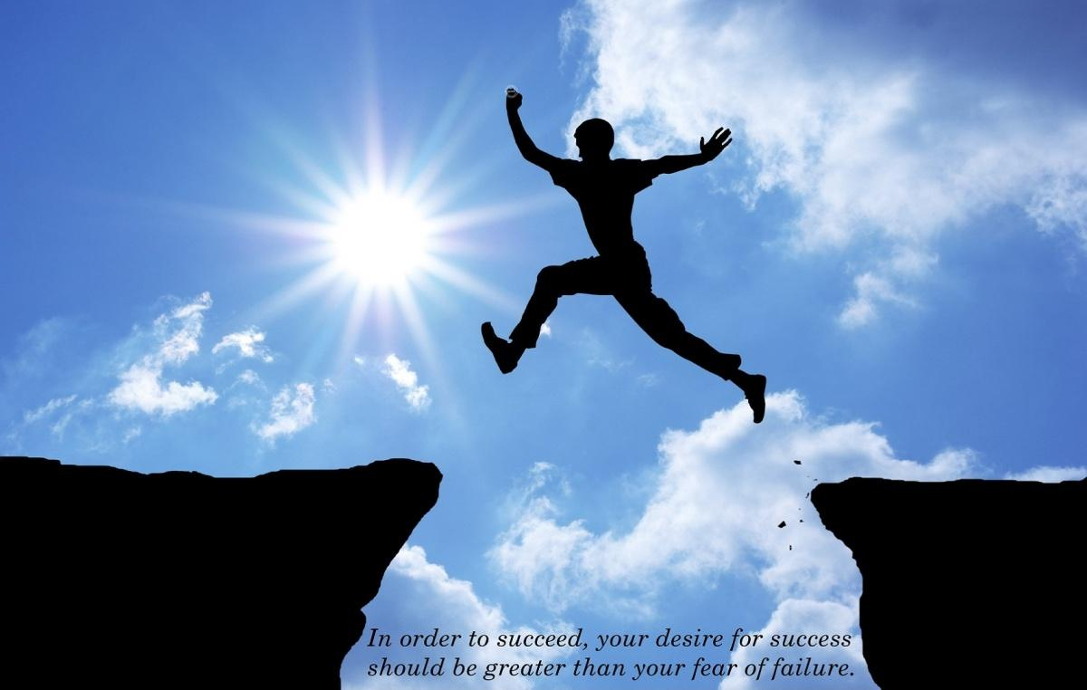 In order to succeed, your desire for success should be greater than your fear of failure Picture Quote #3